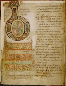 Bede's History of the English Church and People Opening of Book l. Southern England, early ninth century British LIbrary Cotton MS Tiberius C.ll,f.5v;Copyright© The British Library Board