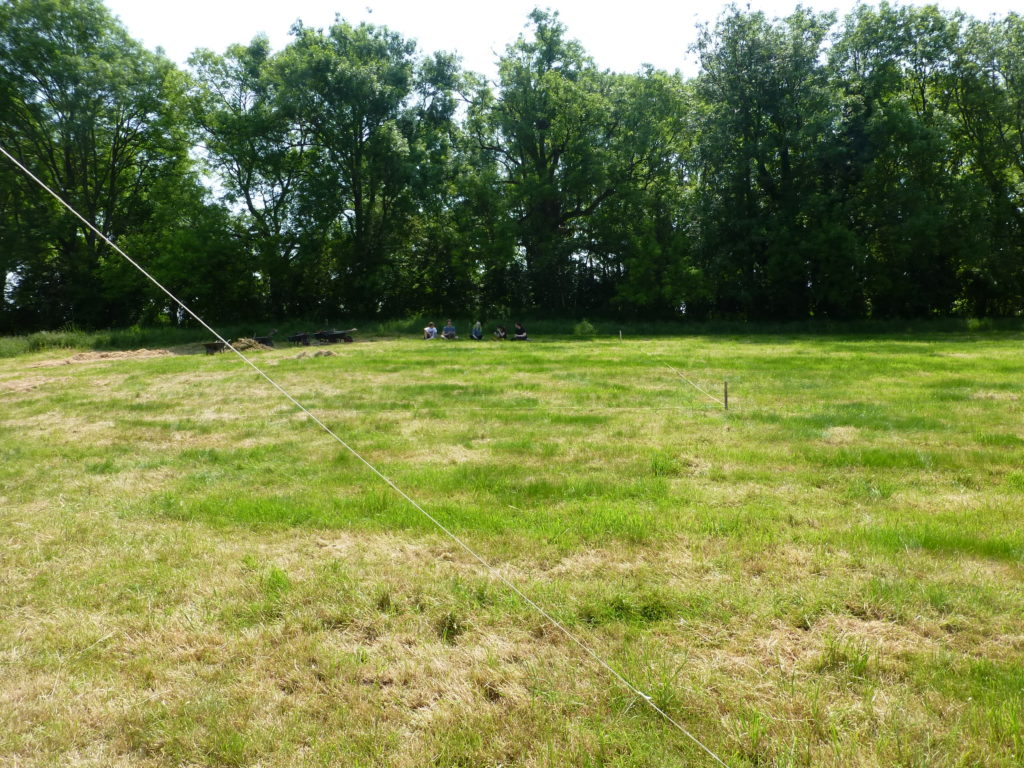 Picture of site day 1
